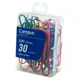 Clips de colores Makro Paper 50mm. (30uds./caja)