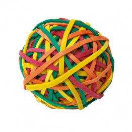 Bola de gomas elásticas Plus Office 100gr