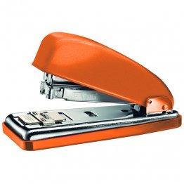 Grapadora Petrus 226 naranja metálico