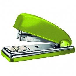 Grapadora Petrus 226 verde metálico