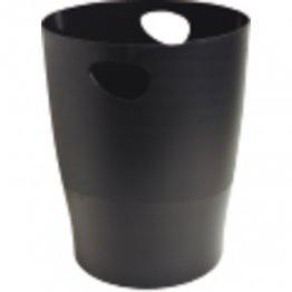 Papelera Exacompta Ecobin 15L negro