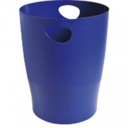Papelera Exacompta Ecobin 15L azul noche