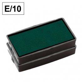 Almohadillas de recambio Colop para Printer E 10 estándar Verde