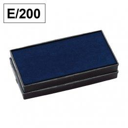 Almohadillas de recambio Colop para Printer E 200 rectangular Azul