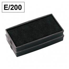 Almohadillas de recambio Colop para Printer E 200 rectangular Negro