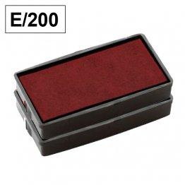 Almohadillas de recambio Colop para Printer E 200 rectangular Rojo