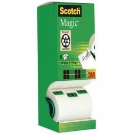 CINTA ADHESIVA INVISIBLE SCOTCH MAGIC 3M 12MMX33M