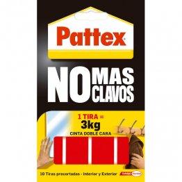 """Cinta doble cara Pattex precortada """"No más Clavos"""""""