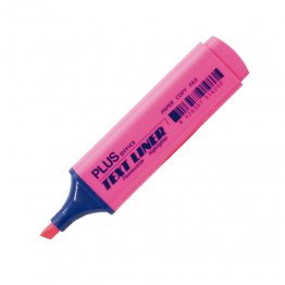 Rotulador Fluorescente Plus Office Text Liner Rosa