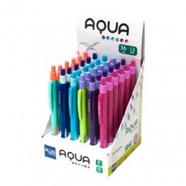 Portaminas Plus Aqua 1,3mm Expositor 36 unid