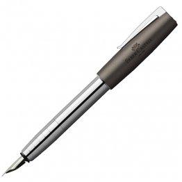 Pluma Faber-Castell LOOM gris metálico