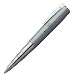 Bolígrafo Faber-Castell LOOM azul celeste metálico