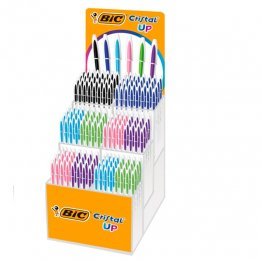 Bolígrafo Bic Cristal Fun Expositor 180 unid