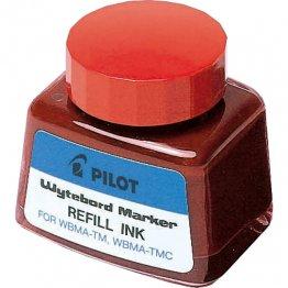 Tinta para marcador de pizarra blanca de Pilot rojo 30 ml.