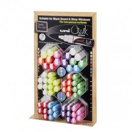 Expositor Uni Chalk 60 unidades