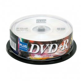 DVD+R Plus Office Tarrina 25 unidades