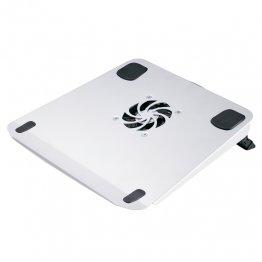 Soporte para portátil con ventilador y USB