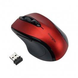 Ratón inalámbrico Kensington óptico rojo rubí