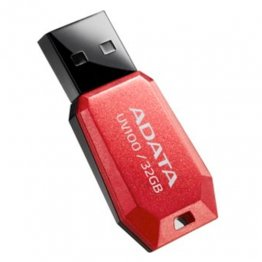 Memoria USB Adata Diamante 32 Gb Rojo