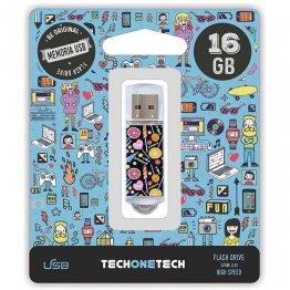 Pen drive Tech1Tech 16 Gb Candy Pop