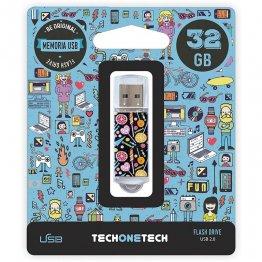 Pen drive Tech1Tech 32 Gb Candy Pop