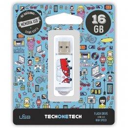 Pen drive Tech1Tech 16 Gb Camper Van-Van
