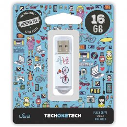 Pen drive Tech1Tech 16 Gb Be Bike