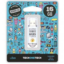 Pen drive Tech1Tech 16 Gb No es tuyo