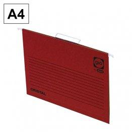 Carpeta colgante Gio A4 Rojo Varilla 349mm