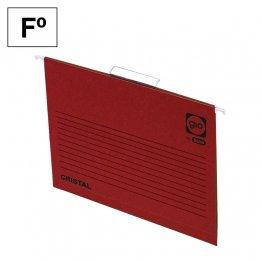Carpeta colgante Gio Folio Rojo Varilla 384mm