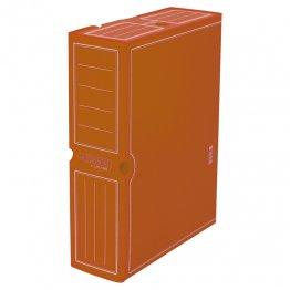 Archivo definitivo plástico Fº prolongado marrón