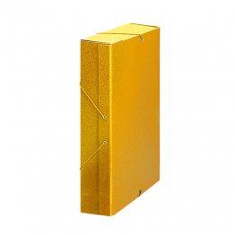 Carpeta proyecto cartón 10 GP Lomo 7cm Amarillo