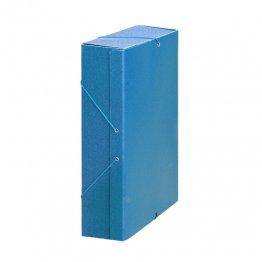 Carpeta proyecto cartón 10 GP Lomo 9cm Azul