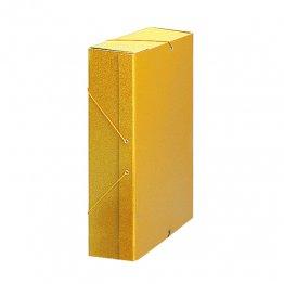Carpeta proyecto cartón 10 GP Lomo 9cm Amarillo