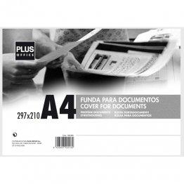 Fundas para documentos Plus Office A4