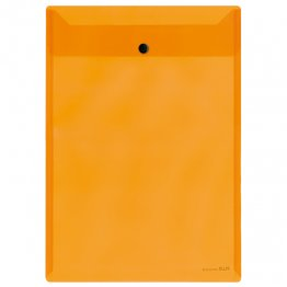 Dossier Plus Office 2021 con broche Naranja