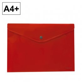 Dossier Plus Office A4 con broche 2020 Rojo