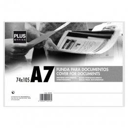 Fundas para documentos Plus Office A7