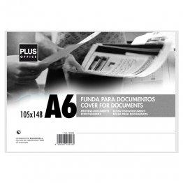 Fundas para documentos Plus Office A6