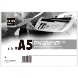 Fundas para documentos Plus Office A5