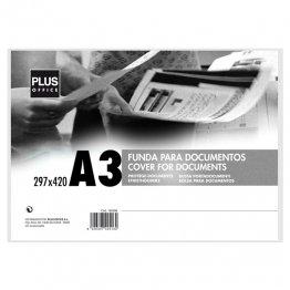 Fundas para documentos Plus Office A3