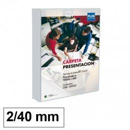 Carpeta Canguro Plus Office Cubierta rígida 2 anillas 40mm lomo 55mm