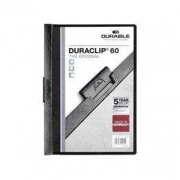 Dossier Durable con pinza Duraclip 60 hojas Negro