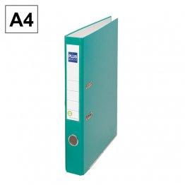 Archivador cartón forrado Plus Office E1R A4 50mm Verde