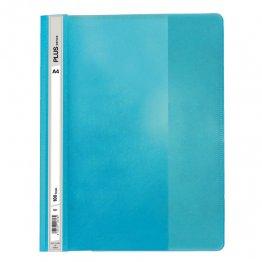 Dossier Plus Office A4 fástener plástico azul claro
