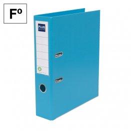 Archivador Plus Office E3R Folio lomo 75mm azul claro