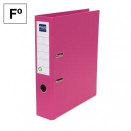 Archivador Plus Office E3R Folio lomo 75mm Rosa