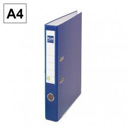 Archivador cartón forrado Plus Office E1R A4 50m Azul