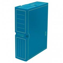 Archivo definitivo plástico Fº prolongado azul