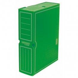 Archivo definitivo plástico Fº prolongado verde